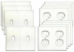 Electrical Outlet and Light Switch plate Gasket Insulator Ki
