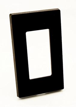 Leviton Electrical Wall Plate, Decora Screwless, 1Gang Brown