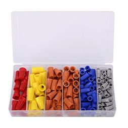 158PCS Electrical Wire Connectors Screw Terminals,with Sprin