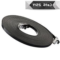 Cat 6 Ethernet Cable 25 ft  Cat6 Internet Network Cable - Fl
