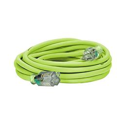 Flexzilla Pro Extension Cord, 12/3 AWG SJTW, 25 ft., Lighted