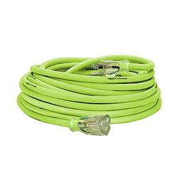 Flexzilla Pro Extension Cord, 12/3 AWG SJTW, 50 ft., Lighted