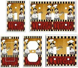 fat chef bistro light switch cover plate