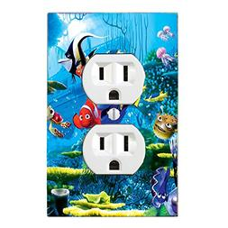GOT YOU COVERED FINDING NEMO 3 DORY AND FRIENDS LIGHT SWITCH