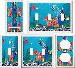 FINDING NEMO CHILDREN & NURSERY DECOR SWITCH OR OUTLET COVER