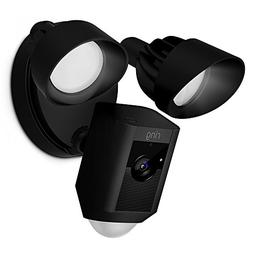 Ring Floodlight Camera Motion-Activated HD Security Cam Two-
