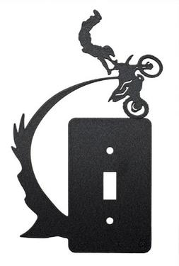 Freestyle Motocross Kiss of Death Single Light Switch Plate