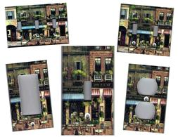 FRENCH BISTRO CAFE PARIS HOME DECOR LIGHT SWITCH PLATES AND