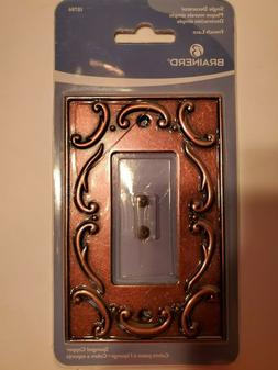 Brainerd French Lace Single Decorator Wall Plate - Sponged C