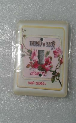3dRose French Soap Ad Light Switch Plate