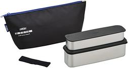 Fresh lunch box THERMOS two-stage type 815 ml black DSA-801