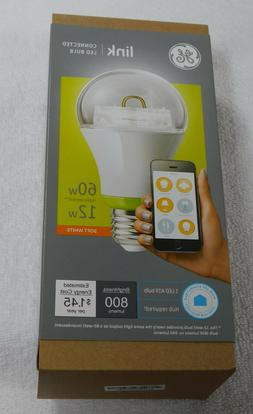 GE Link Smart LED Light Bulb, A19 Soft White , 60-Watt Equiv