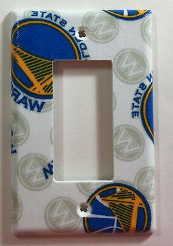 Golden State Warriors Basketball Single Rocker Light Switch