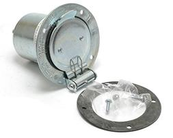 Hubbell HBL7968 Locking Flanged Inlet, 3 Pole and 4 Wire, 50