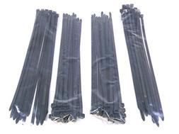 "100-Pack Heavy Duty 14"" 120 Pound Cable Zip Tie Down Strap W"