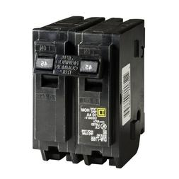 Square D by Schneider Electric HOM245CP Homeline 45-Amp Two-