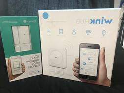 Wink Hub And Compatible Quirky Smart Window/Door Sensors