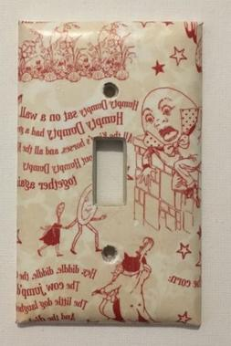 Humpty Dumpty Light Switch Plate Cover Home Wall decor Playr