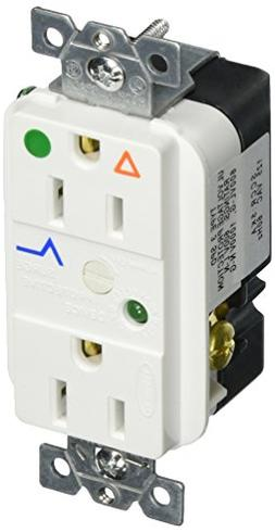 Hubbell Wiring Systems IG8262WSA SpikeShield Circuit Guard H