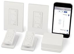 In-Wall Dimmer Kit Wireless Smart Lighting , HomeKit-enabled