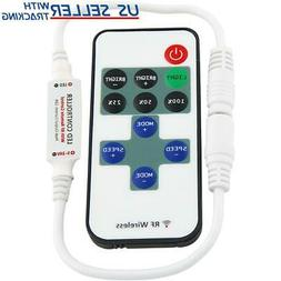 ABI Inline RF Remote Control Dimmer Switch for LED Strip Lig
