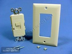 Pass & Seymour Ivory Blank Face Dead Front GFCI GFI Switch 2