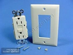 Pass & Seymour Ivory GFCI GFI Receptacle LED Outlet 15A 1594