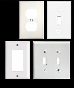 JUMBO SIZE BLANK LIGHT SWITCH COVER PLATE OR OUTLET TO BE DE
