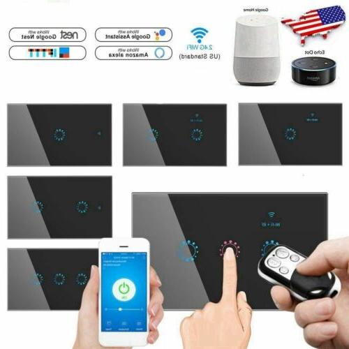 1 2 3 gang smart home wifi