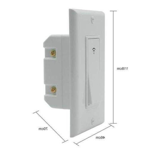 1/2/3 Gang Wall Light Panel For Amazon &