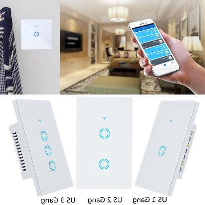 1 2 WIFI Smart Wall APP US Amazon Echo