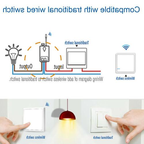 Wireless Lamp Wall Home 1 Way ON/OFF Control