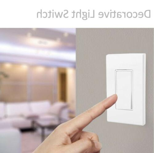 10 Pack Dimmer Switches BESTTEN Single On Off Light