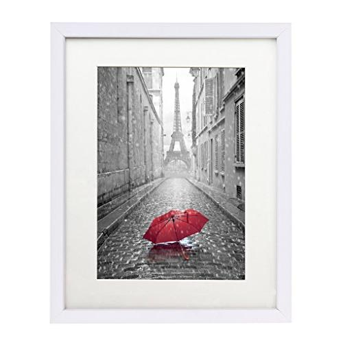 Americanflat 11x14 White Wall Picture Frame - Made to Displa