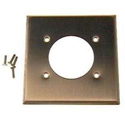 2-Gang Flush Mount 2.15-Inch Diameter, Device Receptacle Wal