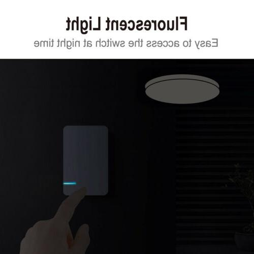 Wireless Control Wall Home Gadget White 110V
