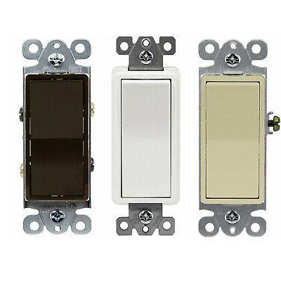 4 way 15 amp light switch decorator