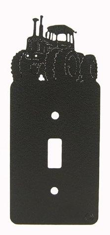 Four Wheel Drive 4WD Tractor Single Light Switch Plate Cover