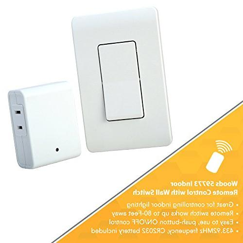 Woods Indoor For Lights Wall Switch