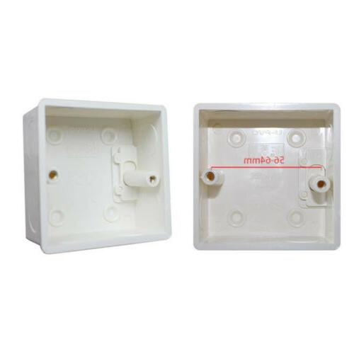 5pcs Recessed LED Wall Mounting Light Switch Socket Junction