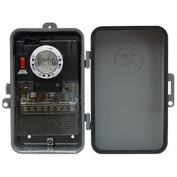 GE 7-Day OnOff Outdoor Metal Box Timer