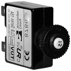 Blue Sea 7056 15A Push Button Thermal