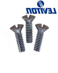 Leviton 85000-PRT Oval Head Milled Slot Wallplate Screws 1/2