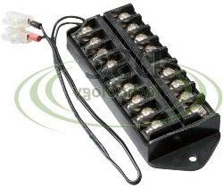 DSC-TB01, 8 Way Terminal Block Bus Bar,Splits 1 Input to 8 O