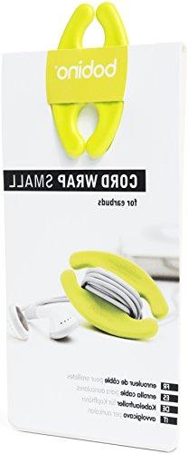 Bobino Cord Wrap - Small - Lime - Stylish Cable and Wire Man
