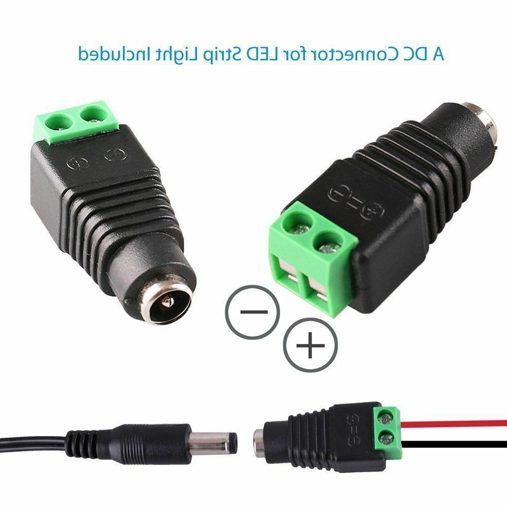 AC 12V Power Connector 5.5x2.1mm