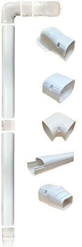 Air Conditioner Slim Duct Line Tubing Cover Accessories for