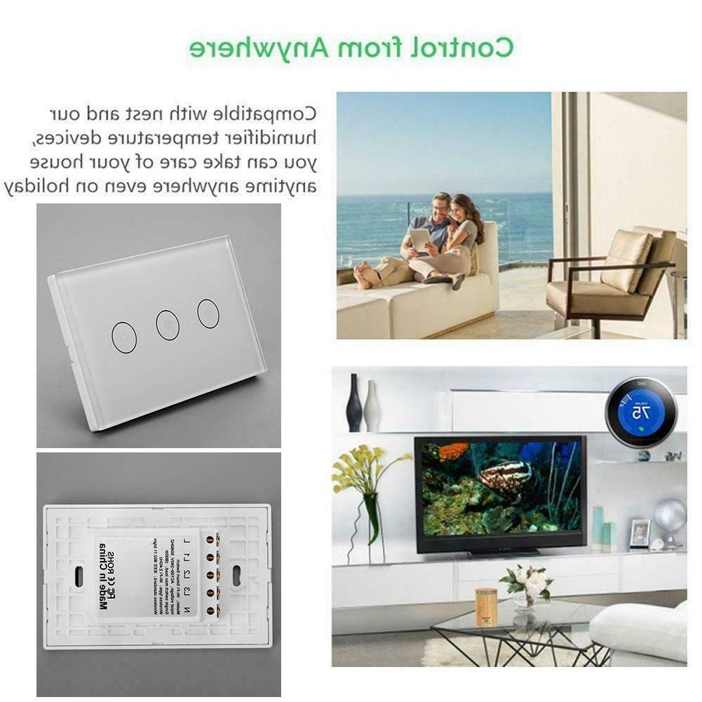 For ALEXA/Google Home WiFi Remote Light Switch