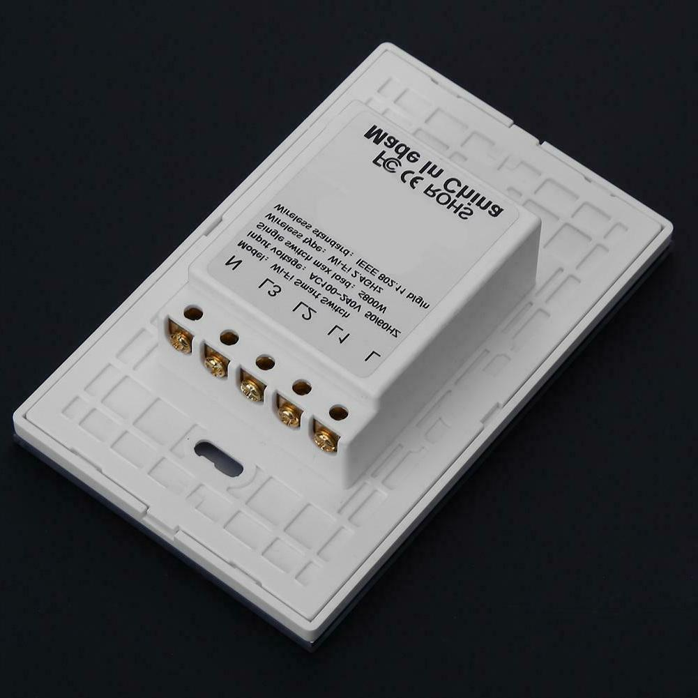 For APP WiFi Remote Control Wall Light Touch Switch