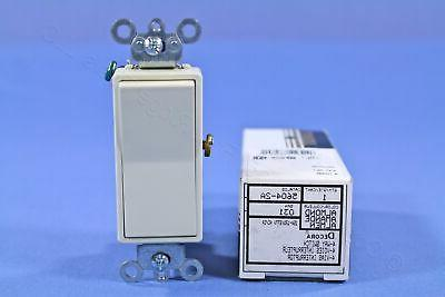 New Leviton Almond 4-Way Decora Light Smooth Rocker Switch 1